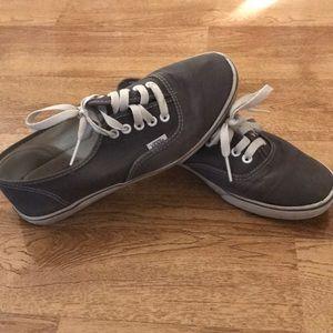 Grey Vans size 8.5